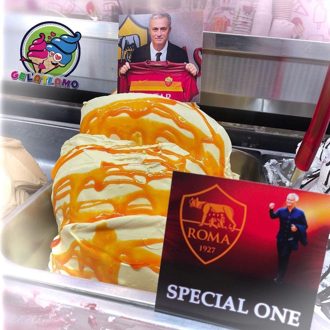 Мурињо доби свој сладолед во Рим, и веднаш си направи нарачка