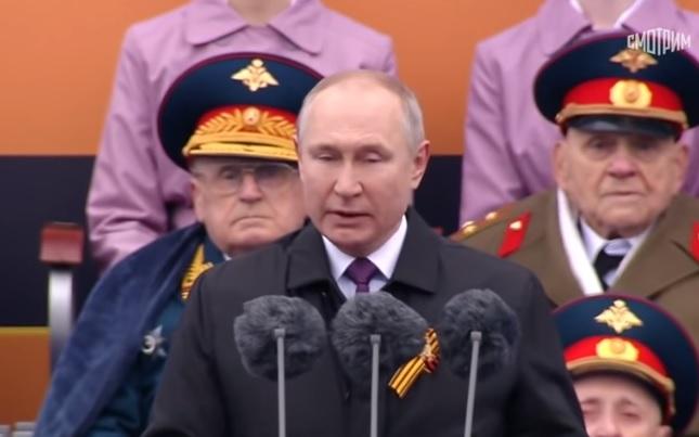Путин по повод Денот на победата: Русија одлучно ќе ги штити своите национални интереси