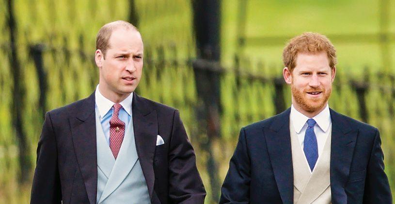 Принцовите Вилијам и Хари му оддадоа почит на нивниот дедо