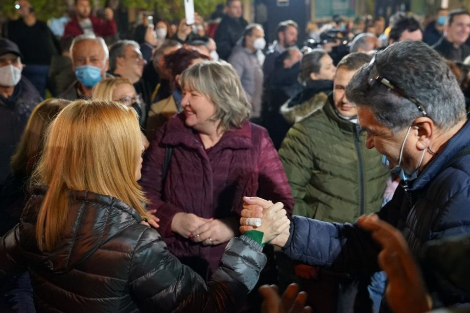Мицкоски: Заокружете 82 за менаџер на градот, за Данела Арсовска