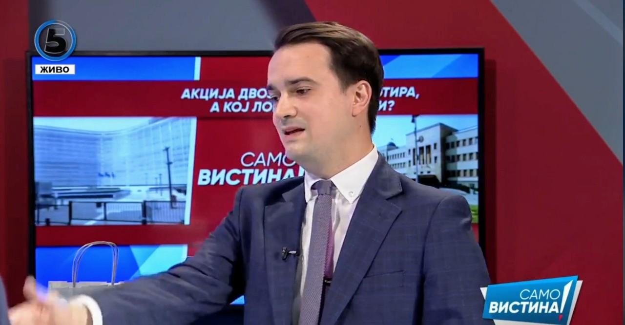 Нелоски: СДСМ издала над 200 македонски патни исправи на нарко босови и убијци, очигледна е спрегата помеѓу власта и мафијата