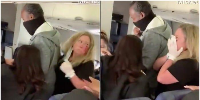 Стјуардеса брутално нападната од патничка (ВИДЕО)